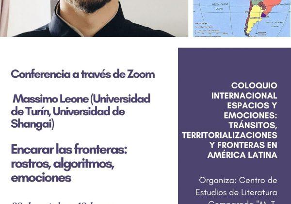 Flyer Massimo Leone_Coloquio ESPACIOS Y EMOCIONES